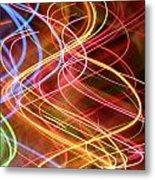 Energy Lines Metal Print