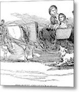 England Royal Sledge, 1854 Metal Print