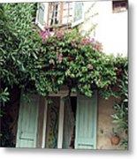 Entrances Of Provence Metal Print