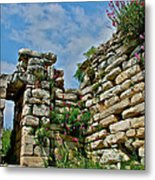 Entry To Saint John's Basilica Grounds In Selcuk-turkey Metal Print