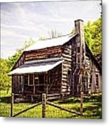 Erbie Homestead Metal Print by Marty Koch