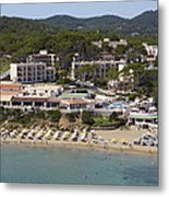Es Figueral Beach And The Invisa Hotels Metal Print
