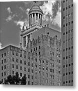 Esperson Buildings Houston Tx Metal Print