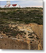 Espichel Cape Lighthouse Metal Print