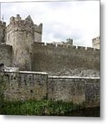 Exterior Of Cahir Castle Metal Print