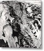 Eyjafjallajokull And The Glacier Metal Print