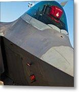 F-22 Raptor Jet Metal Print