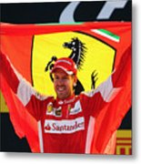 F1 Grand Prix of Italy Metal Print