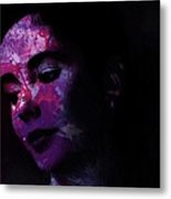 Facets Of Beauty Metal Print