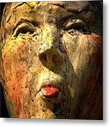 Facing It Metal Print