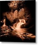 Faeries Chapel Metal Print