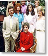 Falcon Crest  Metal Print by Silver Screen