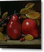 Fall Pear #2 Metal Print