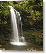 Falling Water Metal Print by Andrew Soundarajan