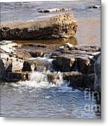 Falls Park Waterfall Metal Print