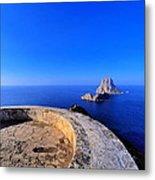 Famous Tower Of Savinar On Ibiza Island Metal Print