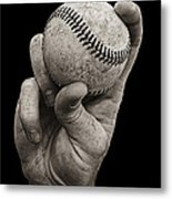 Fastball Metal Print