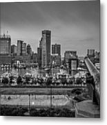 Federal Hill In Baltimore Maryland Metal Print