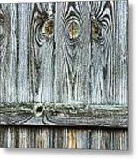 Fence Detail Metal Print