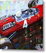 1965 British Grand Prix Silverstone  Lorenzo Bandini Ferrari 158 Metal Print