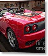 Ferrari 360 Spider Metal Print