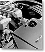 Ferrari 599 Gtb Engine  Metal Print