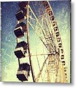 Ferris Wheel In Paris Metal Print