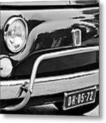 Fiat 500 L Front End Metal Print