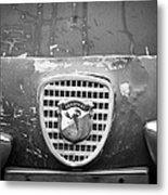 Fiat Grille Emblem Metal Print