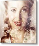 Fifties Beauty In Nature And Natural Light Metal Print