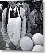 Film Homage Balloon Vender Extra The Great White Hope 1970 Globe Arizona 1969-2008 Metal Print