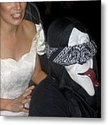 Film Homage Bela Lugosi Ed Wood Bride Of The Monster 1955 Halloween Party Casa Grande Arizona 2005 Metal Print