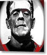 Film Homage Boris Karloff The Bride Of Frankenstein 1935 Publicity Photo 1935-2012 Metal Print