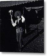 Film Homage Charlie Chaplin The Circus 1928 Clown Strong Circus Bisbee Arizona 1980 Metal Print