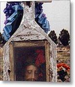 Film Homage John Wayne The Greatest Story Ever Told 1965 Cemetery Tubac Arizona 2000 Metal Print