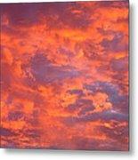 Film Noir Homage Leave Her To Heaven Number 1 Fiery Clouds Casa Grande Arizona 2005 Metal Print