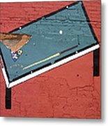 Film Noir Phil Carlson The Phenix City Story 1955 Bar Wall Pool Table Eloy Arizona 2005 Metal Print