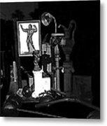 Film Noir Richard Widmark Night And The City 1950 1 Johnny Gibson Health And Gym Equipment Tucson Metal Print