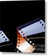 Film Strip Abstract Metal Print by Tim Hester