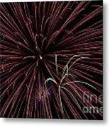 Fireworks Metal Print by Jason Meyer