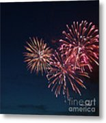 Fireworks Series Vi Metal Print by Suzanne Gaff