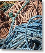Fishing Ropes Metal Print