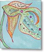Fishstiqueart 2009 Metal Print by Elmer Baez