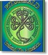 Fitzgerald Ireland To America Metal Print