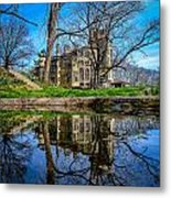 Fonthill Reflections Metal Print