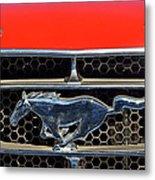 Ford Mustang Badge Metal Print