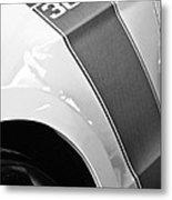 Ford Mustang Boss 302 Emblem Metal Print