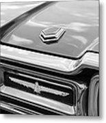 Ford Thunderbird Tail Lights Metal Print