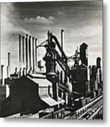 Ford's River Rouge Plant Metal Print