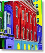 Fords Theatre Metal Print